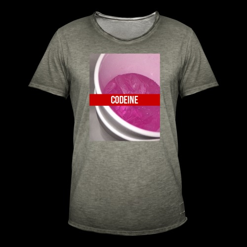 CODEINE STREETWEAR - Maglietta vintage da uomo