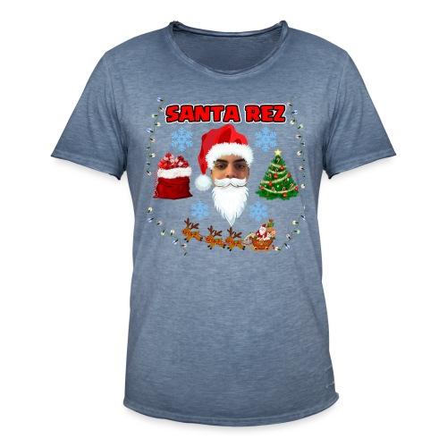Santa Rez - Miesten vintage t-paita