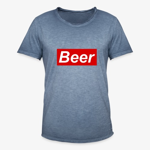 Beer. Red limited edition - Mannen Vintage T-shirt