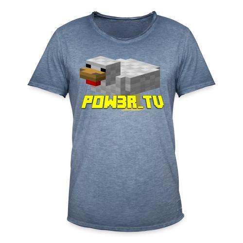 POW3R-IMMAGINE - Maglietta vintage da uomo
