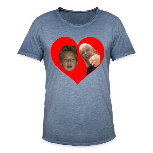 Sebber in love - Herre vintage T-shirt