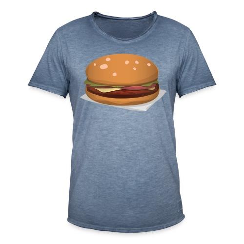 hamburger-576419 - Maglietta vintage da uomo