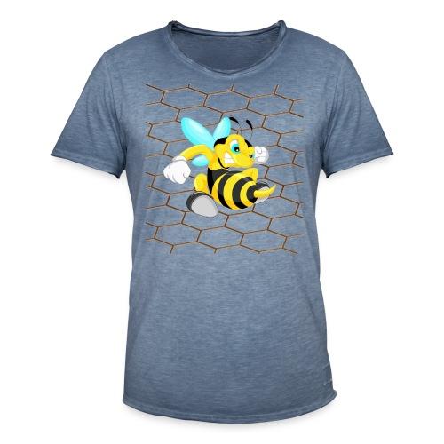 Abeja Guerrera 2 - Camiseta vintage hombre