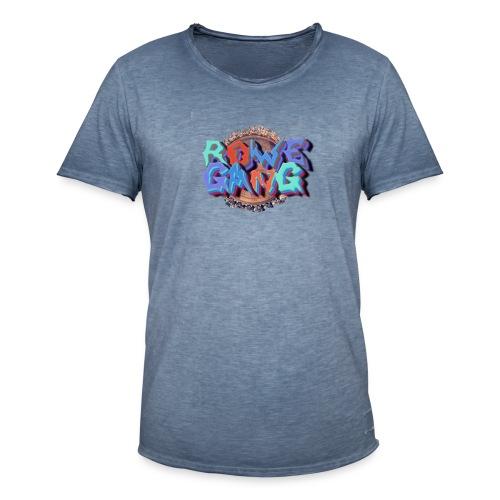 RoweGang Basic Logo - Miesten vintage t-paita