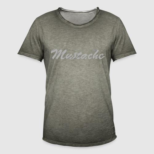 White Lettering - Men's Vintage T-Shirt