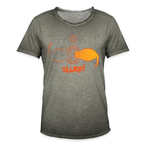 Slurp - Maglietta vintage da uomo
