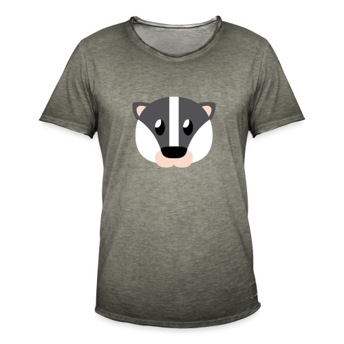 Dachs »Didi« - Men's Vintage T-Shirt