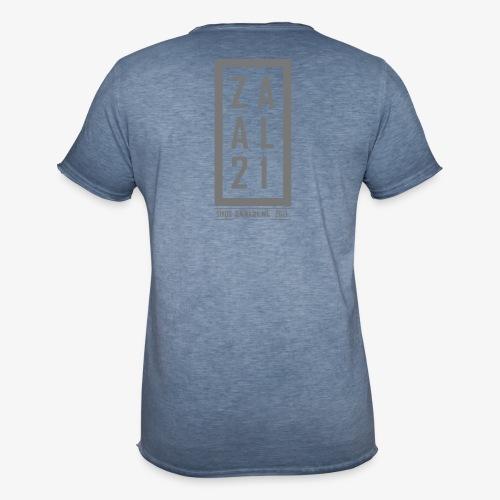 T-SHIRT-BLOK - Mannen Vintage T-shirt