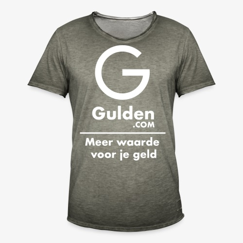 NLG - Gold Cryptocurrency - Early Adopter - Men's Vintage T-Shirt