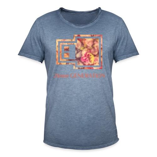 21ème GENERATION Modèle UrbanCloud - T-shirt vintage Homme