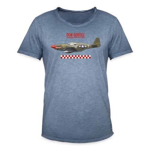 P-51 Mustang Shangri-La - Men's Vintage T-Shirt