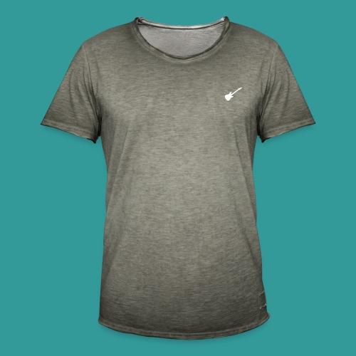 Guitar is Good Logo - Men's Vintage T-Shirt