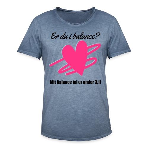 I Balance Design - Herre vintage T-shirt