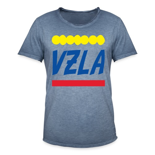 vzla 01 - Camiseta vintage hombre