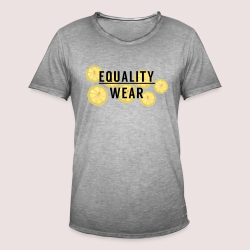 Equality Wear Fresh Lemon Edition - Men's Vintage T-Shirt