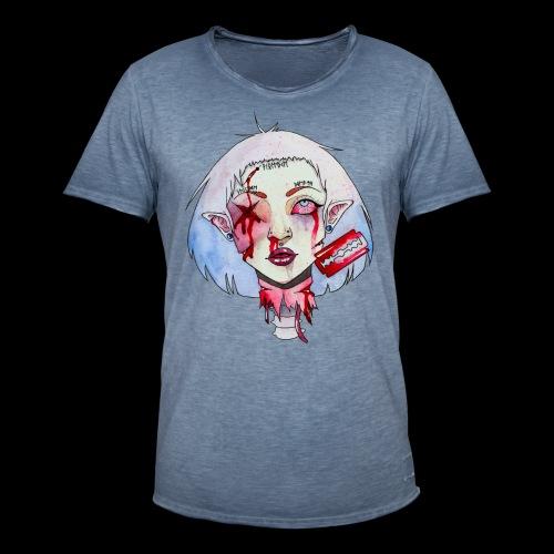 Violence - T-shirt vintage Homme