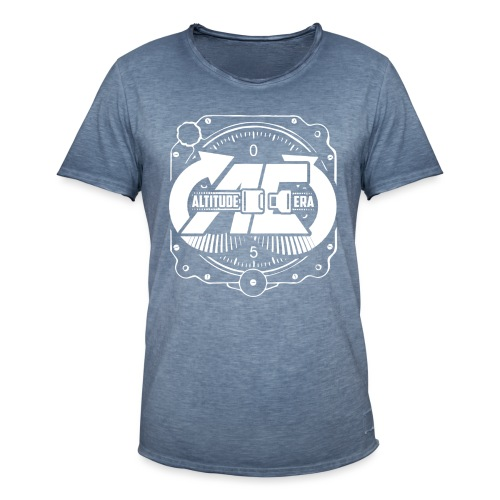 Altitude Era Altimeter Logo - Men's Vintage T-Shirt