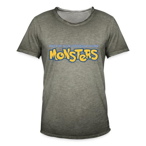Monsters - Men's Vintage T-Shirt