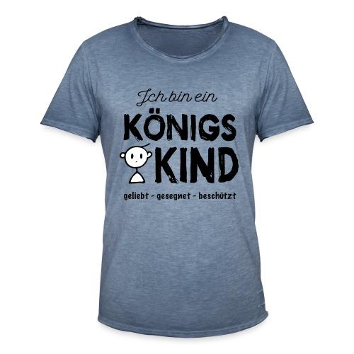 Sany O. Ich bin ein Königs Kind - Männer Vintage T-Shirt