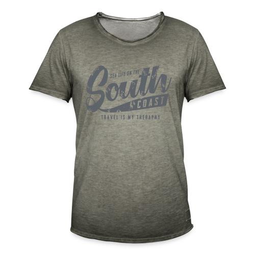 South Coast Sea surf clothes and gifts GP1305B - Miesten vintage t-paita
