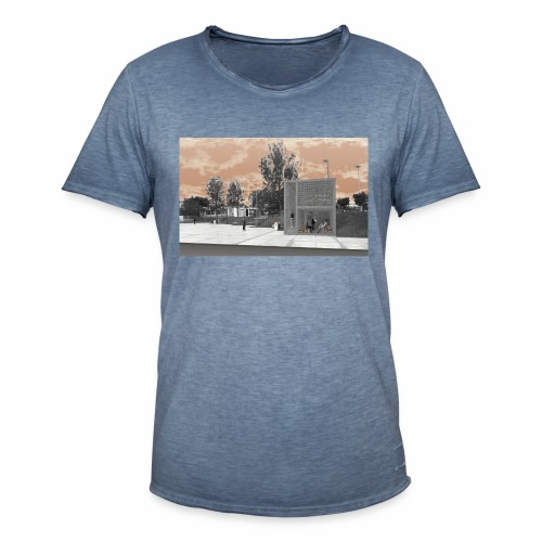 Arquitectura cambiada de lugar - Camiseta vintage hombre