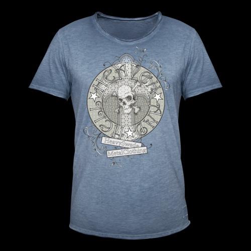 heaven hell - Vintage-T-shirt herr