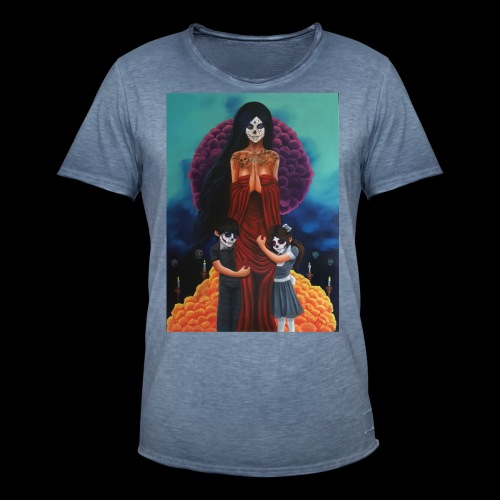 los fieles difuntos - Men's Vintage T-Shirt