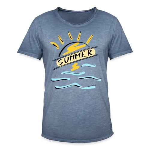 Summer - T-shirt vintage Homme