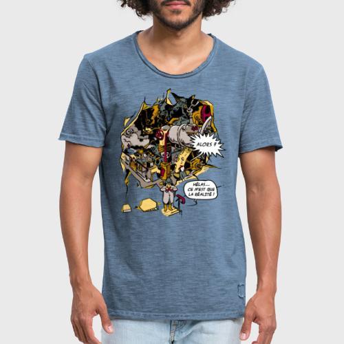 C'est la Réalité - T-shirt vintage Homme