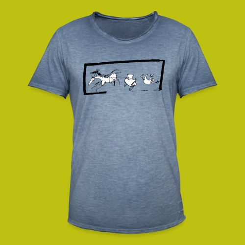 Alma platónica - Camiseta vintage hombre