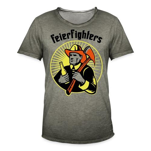 feierfighters - Männer Vintage T-Shirt