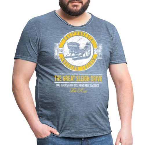 FriRex Schlittenfahrt - Männer Vintage T-Shirt