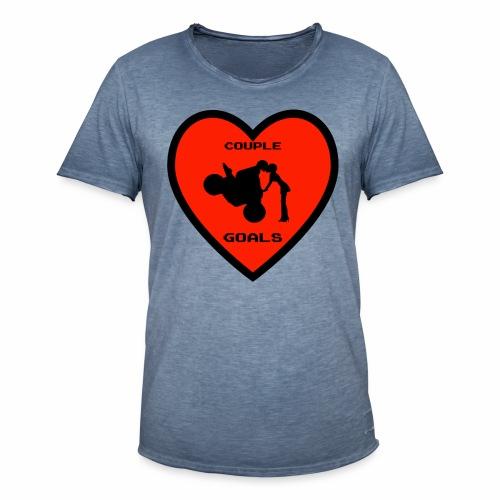 Couple Goals <3 - Maglietta vintage da uomo