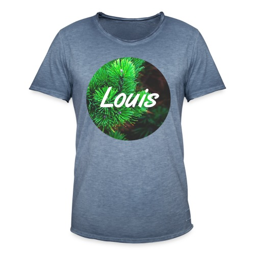 Louis round-logo - Männer Vintage T-Shirt