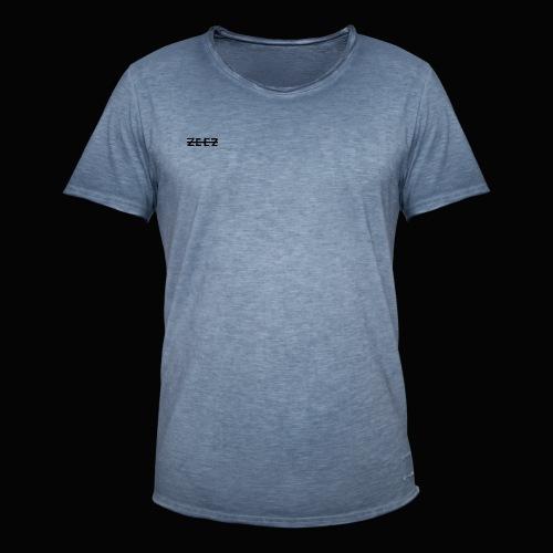 zeez poilu noir sur coté - T-shirt vintage Homme