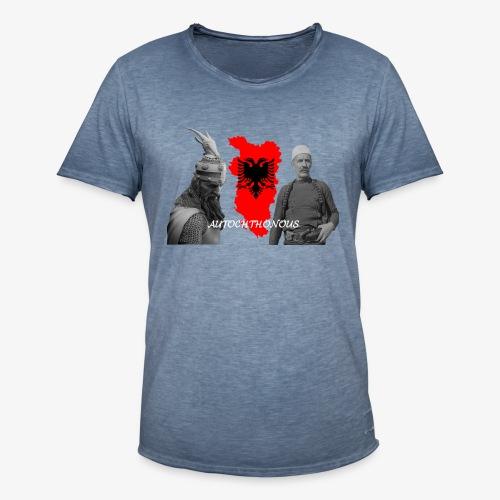 Autochthonous das Shirt muss jeder Albaner haben - Männer Vintage T-Shirt