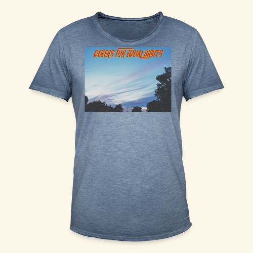 Q4ER - Men's Vintage T-Shirt
