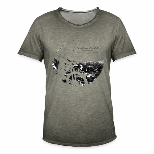 La vita incredula - Maglietta vintage da uomo