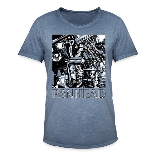 Panhead motordetail 01 - Mannen Vintage T-shirt