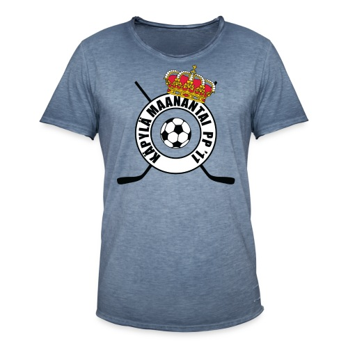 logo-no-blue - Miesten vintage t-paita