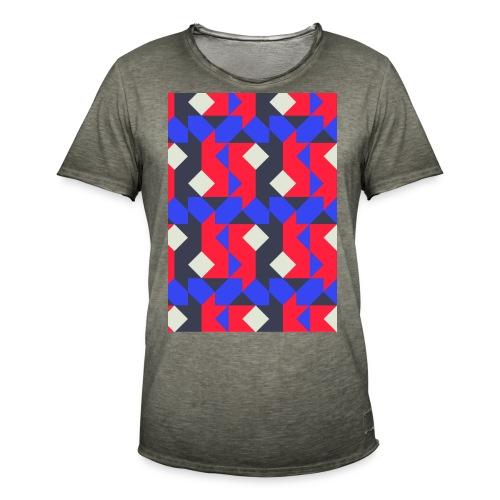Abstact T-Shirt #1 - Men's Vintage T-Shirt