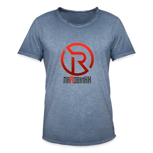 MrRobinhx - Vintage-T-skjorte for menn