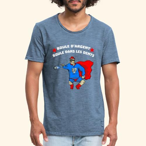 boule d' argent - T-shirt vintage Homme