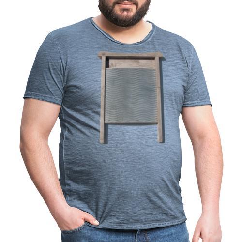 Vaskebræt - sixpack - Herre vintage T-shirt