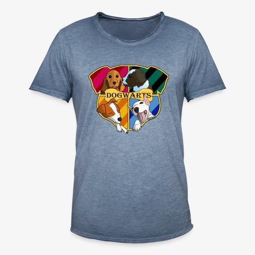 Dogwarts Logo - Men's Vintage T-Shirt