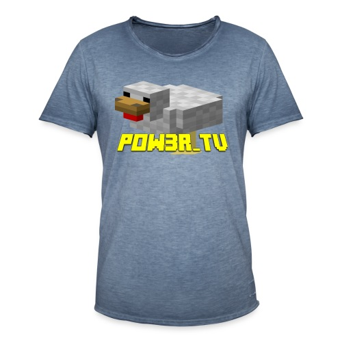 POW3R - Maglietta vintage da uomo