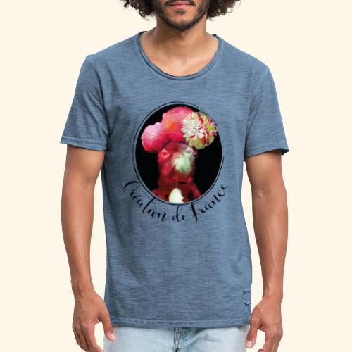 Création de France - T-shirt vintage Homme