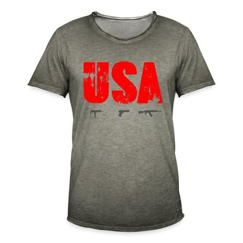 US Law - Vintage-T-shirt herr