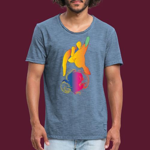 Manos de Hades - Camiseta vintage hombre