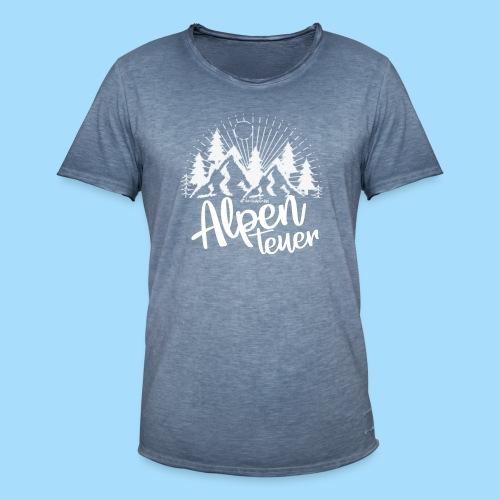 Alpenteuer - Männer Vintage T-Shirt